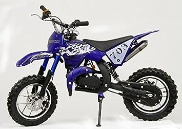 MOTO CROSS/Bolsillo Cross - KXD -703-10 Pulgadas Ruedas - Negro: Amazon.es: Coche y moto