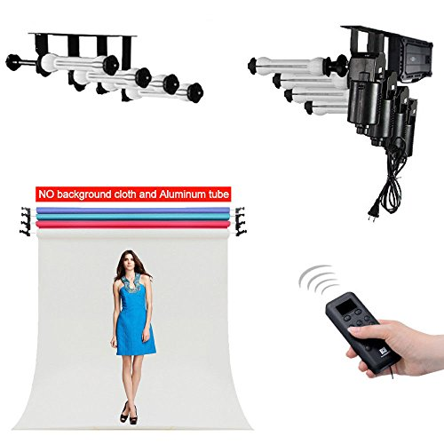 Fotoconic 4 Roller Motorized Electric Wall Ceiling Mount Background Support System with Remote by fotoconic (Image #9)
