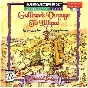 memorex-childrens-series-gullivers-voyage-to-lilliput-interactive-storybook-for-windows-31-windows-9