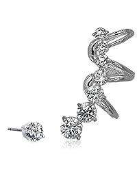 nOir Jewelry Rise Ear Cuffs
