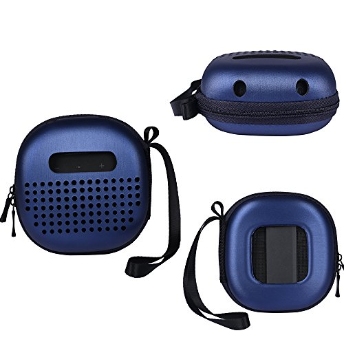 Carry Cover Case for Bose SoundLink Micro Bluetooth Speaker Protective Cover Box,No Need to Disassemble (Blue)