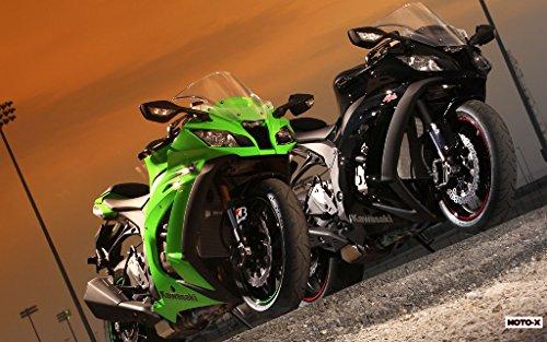 Motorcycle Kawasaki Ninja Zx-10R 2011 14 - 24X36 Poster