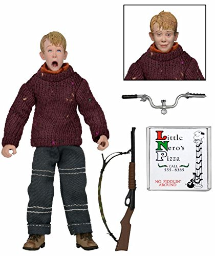 Neca Home Alone Kevin, Marv, Harry 8-Inch Retro Action Figure Set