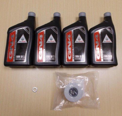 New 2009-2013 Honda Big Red UTV MUV 700 Side By Side OE Basic Oil Service Kit by Honda (Image #1)