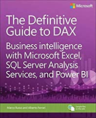 This comprehensive and authoritative guide will teach you the DAX language for business intelligence, data modeling, and analytics. Leading Microsoft BI consultants Marco Russo and Alberto Ferrari help you master everything from table functio...