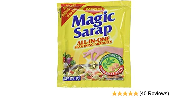 Amazon.com : Maggi Magic Sarap All-in-One Seasoning 8g 12pc : Meat Seasonings : Grocery & Gourmet Food