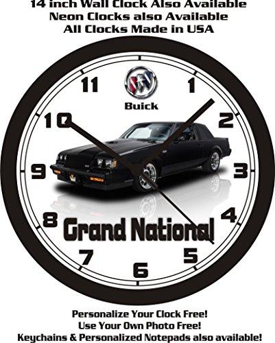 1987-buick-grand-national-wall-clock-free-usa-ship