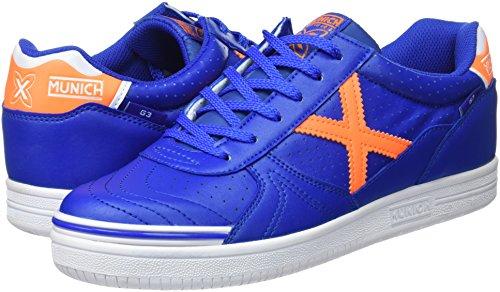 805 De Azul Zapatillas 3 orange Munich Unisex Adulto Deporte Profit G blue q86qwIP