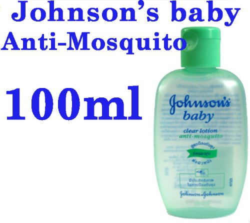 100ml Johnson S Johnson Baby Clear Lotion Anti Mosquito