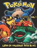 Pokemon Libro de Colorear para niños Volume 1: En este tamaño A4 Volumen 1 de 2 del libro de colorear, hemos capturado 75 criaturas capturable de Pokemon Go para que usted coloree.