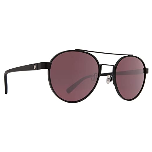b4c056598e Spy Optic Unisex Deco Matte Black Happy Rose Light Silver Spectra Mirror  One Size
