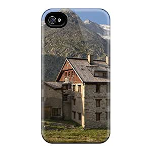 Iphone Cases - Cases Protective For Iphone 6- Chalet On A Summer Day In The Alps