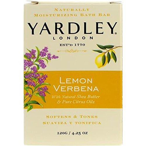 Verbena Lemon Moisturizing (Yardley London Lemon Verbena Naturally Moisturizing Bath Bar, 4.25 ounce)