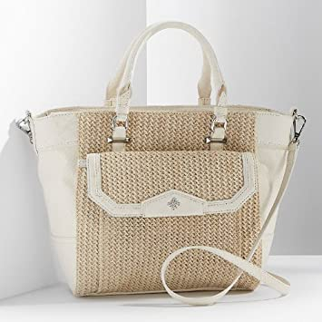 Amazon.com   Simply Vera Vera Wang Aruba Straw Convertible Tote   Beauty d65416e84b18e