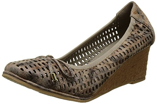 Les P'tites Bombes Cassandre - Bailarinas Mujer Beige (Taupe)