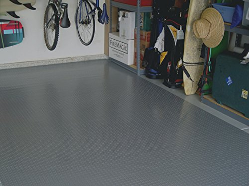 Auto Care Products 82714 Diamond Deck 7.5' x 14' Small Car Mat, Battleship Gray by Auto Care (Image #3)