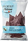 #6: Wickedly Prime Organic Tortilla Chips, Stone-Ground Blue Corn, 13 Ounce
