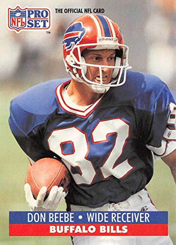 1991 Pro Set Football Card #442 Don Beebe Buffalo Bills Official NFL Trading Card