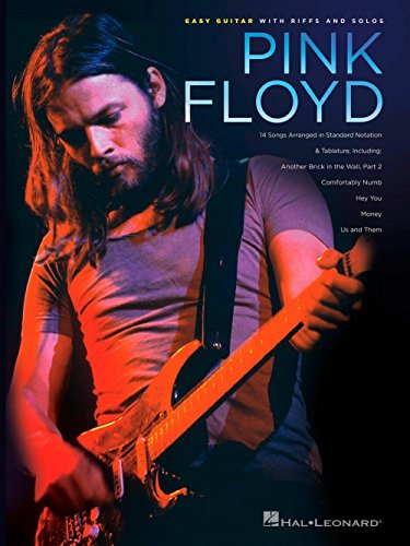 Hal Leonard Pink Floyd - Easy Guitar With Riffs And Solos (With Tab) (Books Pink Floyd Tab Guitar)