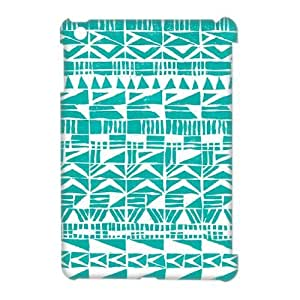 Green Tribal Pattern 3D-Printed ZLB557150 DIY 3D Phone Case for Ipad Mini by icecream design