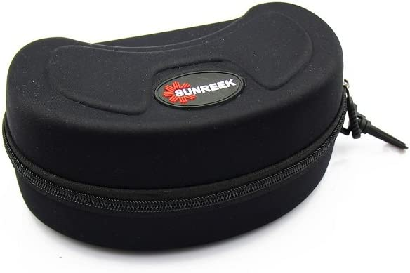SUNREEK™Black Ski Goggle Hard Protective Carrying Case Sunglasses Case Protection Cover by SUNREEK