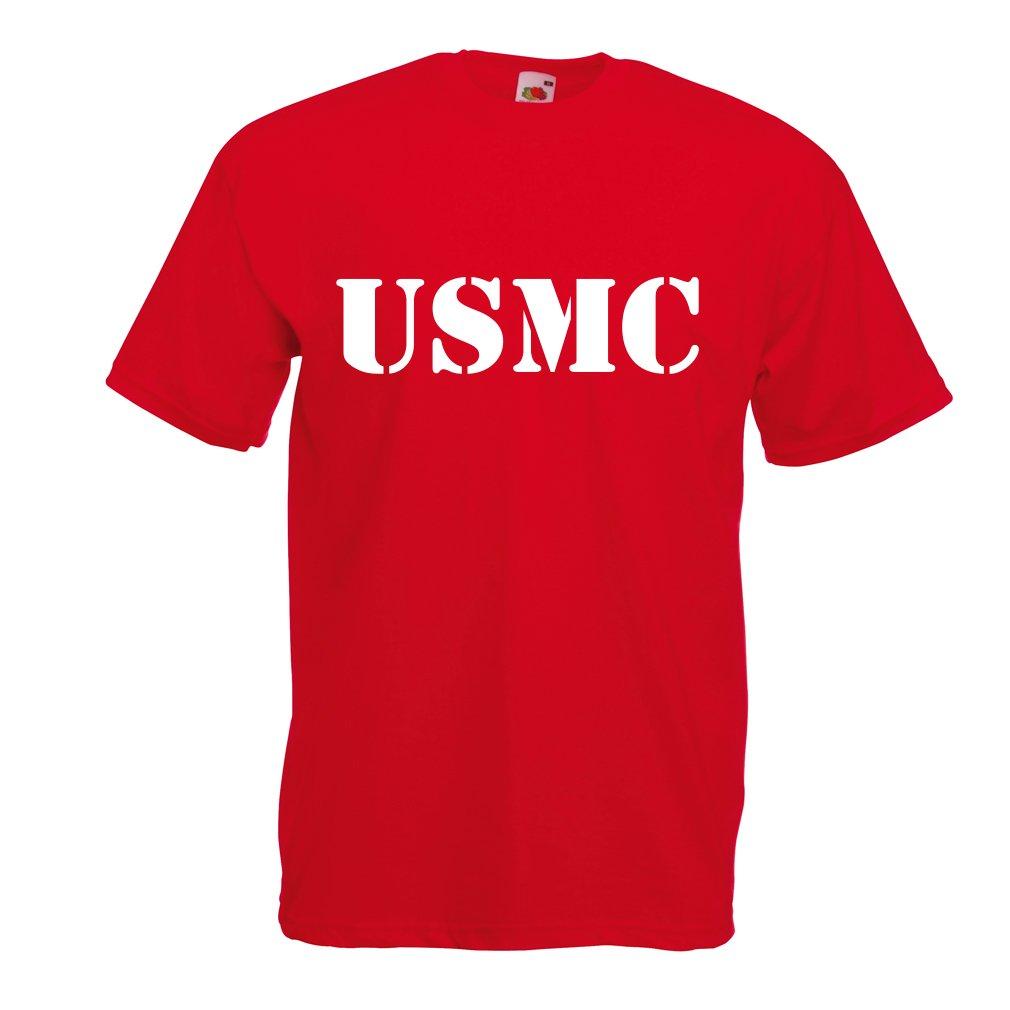 Corps des Marines lepni.me T-Shirt pour Hommes Embl/ème de lUSMC Logo des Marines Forces arm/ées de la Marine am/éricaine