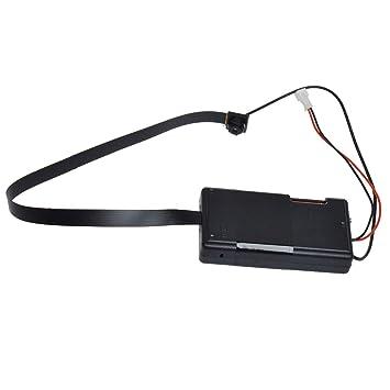 Mengshen 1280x720P HD Mini botón de la cámara espía Oculto Cámaras Agujero de alfiler Mini Seguridad DVR Activado por Movimiento de la batería Incorporado ...