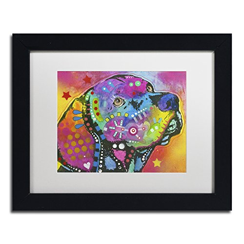 Psychedelic Lab by Dean Russo, White Matte, Black Frame 11x14-Inch