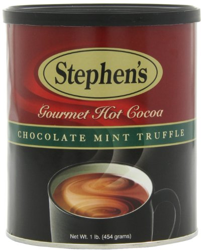 Stephen's Gourmet Hot Cocoa, Chocolate Mint Truffle, 16-Ounce Cans (Pack of 6)