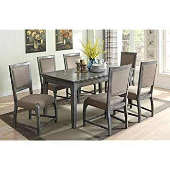 ACME Furniture 72110 Freira Dining Table Antique Gray