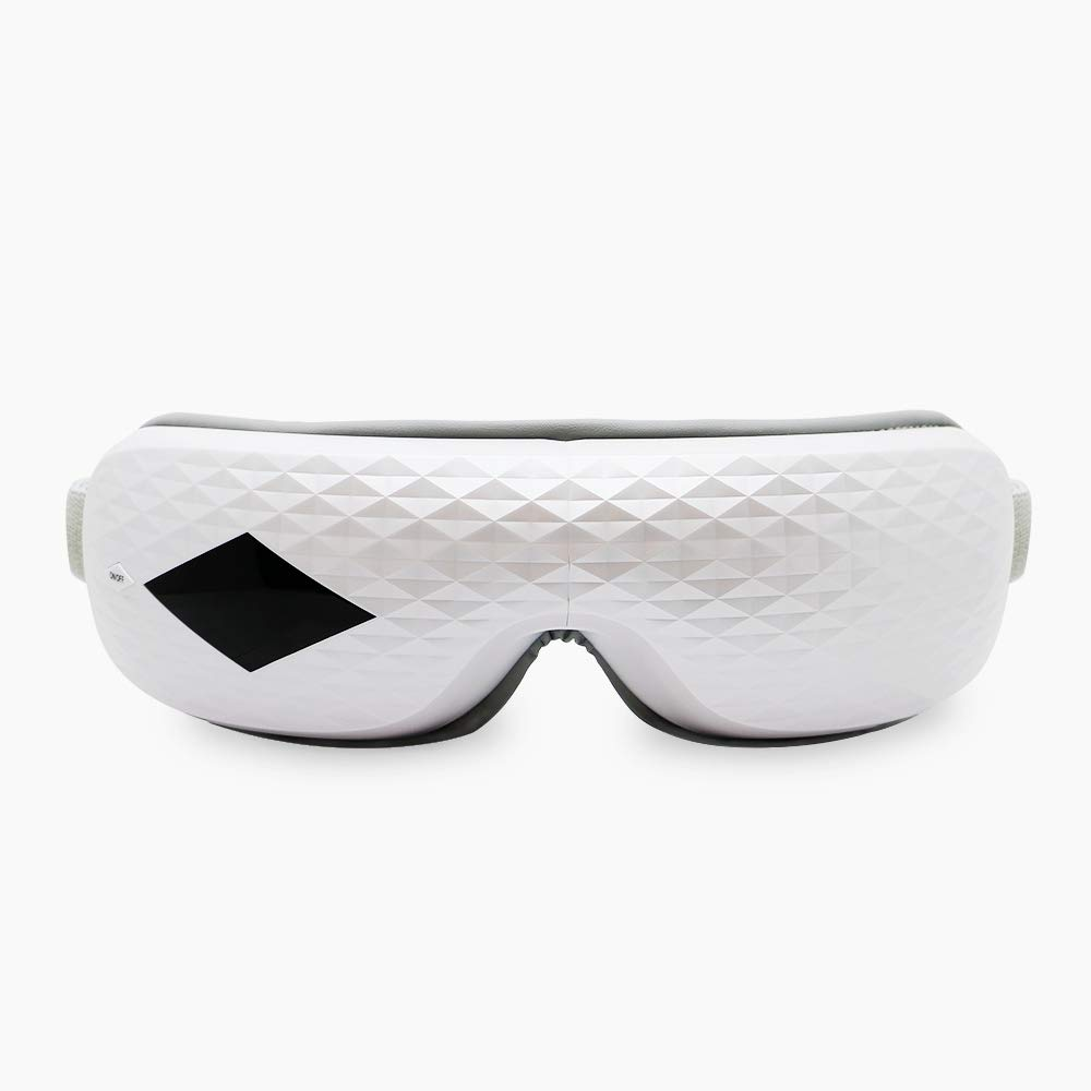 Eye Massager,Electric Eye Temple Massager with Heat Infrared Air Pressure Music Vibration Eye Mask by ETTG