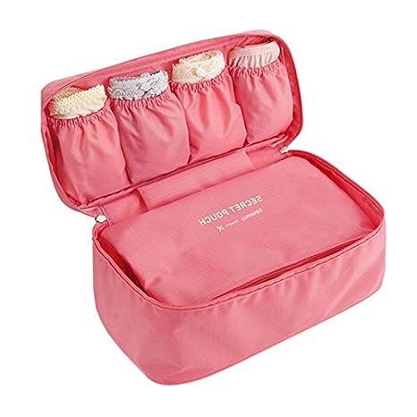 Cozywind - Bolsa de Almacenamiento multifunción para Sujetador de Mujer, Peach Pink, Small: Amazon.es: Hogar