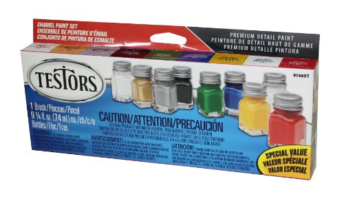 Testors 9146XT Promotional Enamel Paint Set( Packaging may vary)