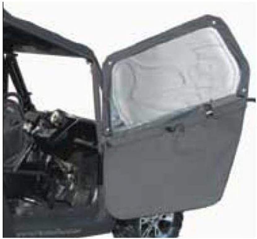 Black PR Products RZR-FD-BK Polaris Full//Half Doors