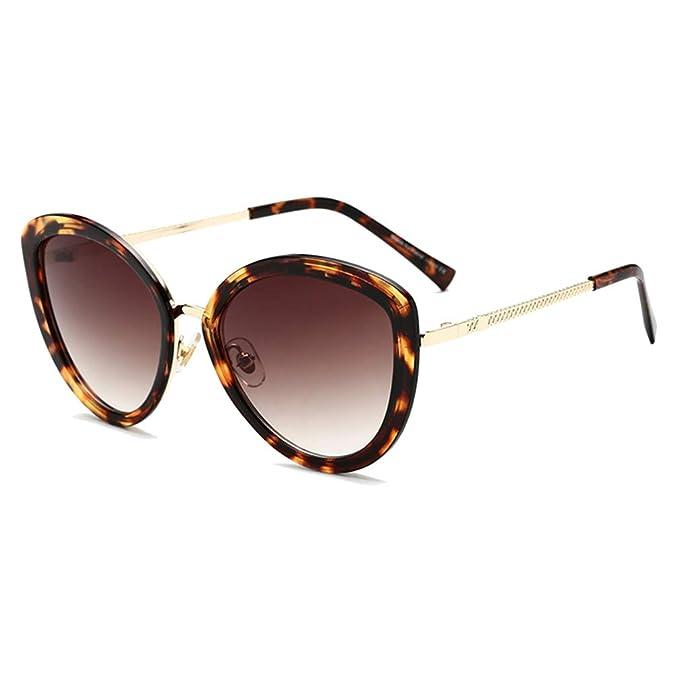 Mxssi Vintage Cat Eye Sunglasses Mujeres Moda Gafas de sol ...