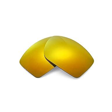 3532bbea471 Walleva Replacement Lenses for Oakley Big Taco Sunglasses - 13 Options (24K  Gold Mirror Coated - Polarized)  Amazon.co.uk  Clothing