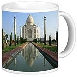 Rikki Knight Ceramic Coffee Mug, Taj Mahal, Agra, India