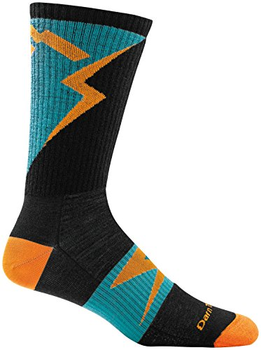 Darn Tough BA Barney Bike Boot Ultra Light Sock - Mens Orange Large