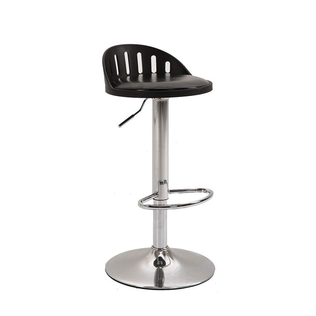Black A+ Stool Home Lift redary Dining Chair Tough PP Material High Elastic Sponge Filled Ergonomic Design 5 color 39CM  60-80CM (color   Green)