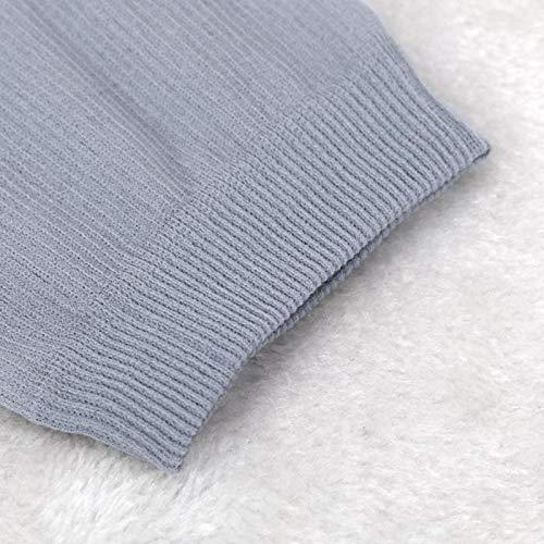 Star_wuvi 8 Pair Unisex Crew Socks Bamboo Fiber Ultra-thin Silky Breathable Comfortable Men Christmas Socks (Grey-1pair)