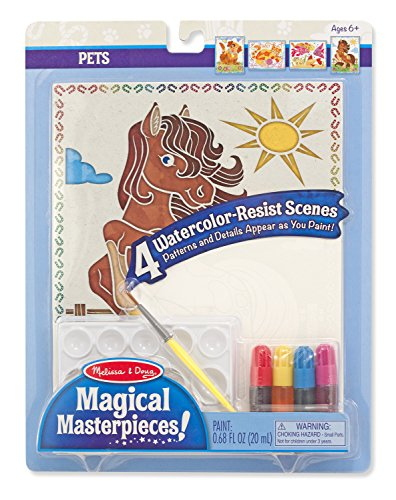 Melissa & Doug Magical Pets Masterpieces Art Paper Product (Melissa Doug Pets Mix)