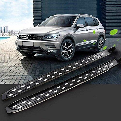 Heka paso lateral para VW Volkswagen Tiguan L 20172018Running Junta Nerf Bar plataforma