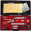 ウチダ KD型製図器 SE 14品組 鉛筆製図セット 010-0005