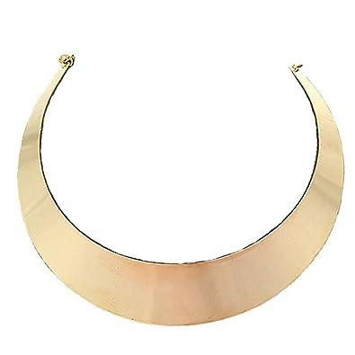 Amazon.com: mymate Mujer Choker Collar Acero inoxidable ...
