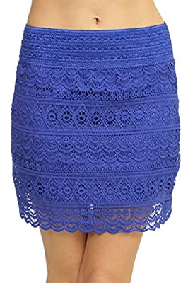 ToBeInStyle Women's Lace Knit Skirts