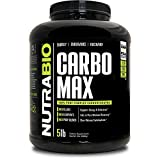 NutraBio CarboMax (5 Pounds) - Unflavored Carbohydrate Powder