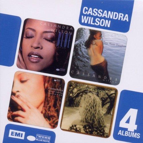 Cassandra Wilson - Boxed Set 4cd Blue Light Till Dawn/new Moon Daughter/travelling Miles/belly Of The Sun By Cassandra Wilson - Zortam Music