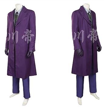 <b>Amazon</b>.com: LJQ Cos The Dark Knight Rises <b>Joker Cosplay Costume</b> ...