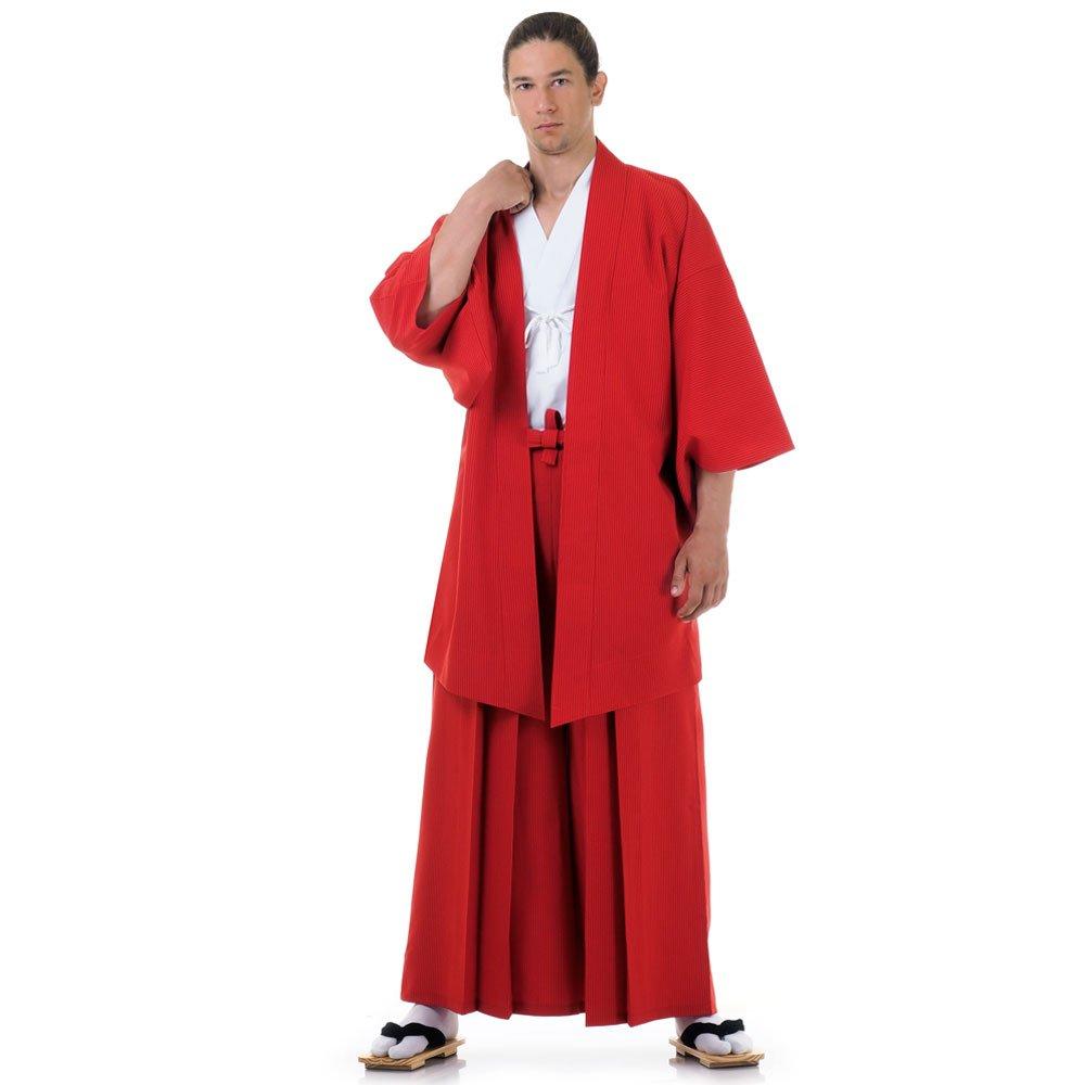 Japan Samurai Kimono Set 3 Teile Kendo Gi + Hakama + Haori Baumwolle M L XL HM