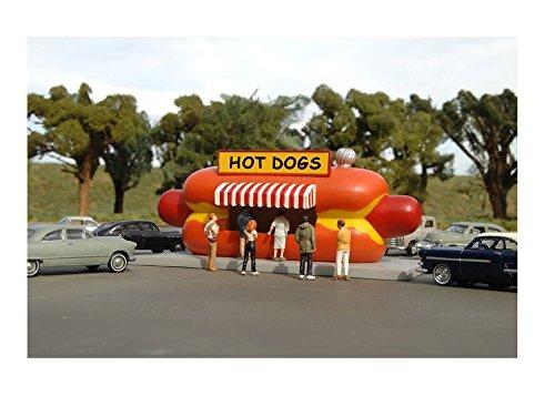 Bachmann Industries Hotdog Stand HO Scale Train by Bachmann Trains (Image #2)